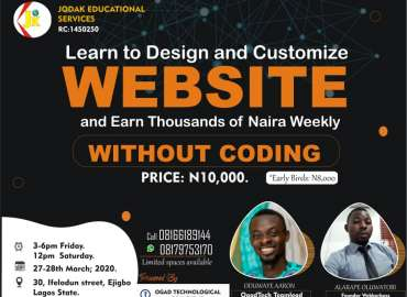 how to design website and start making money in Nigeria