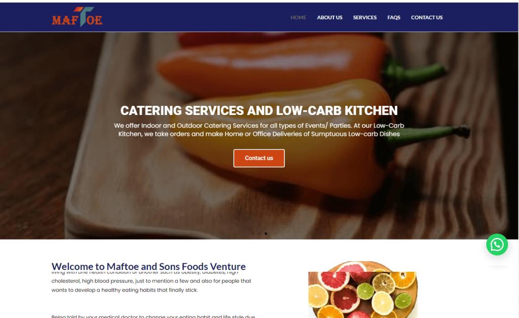 maftoe and sons foods venture