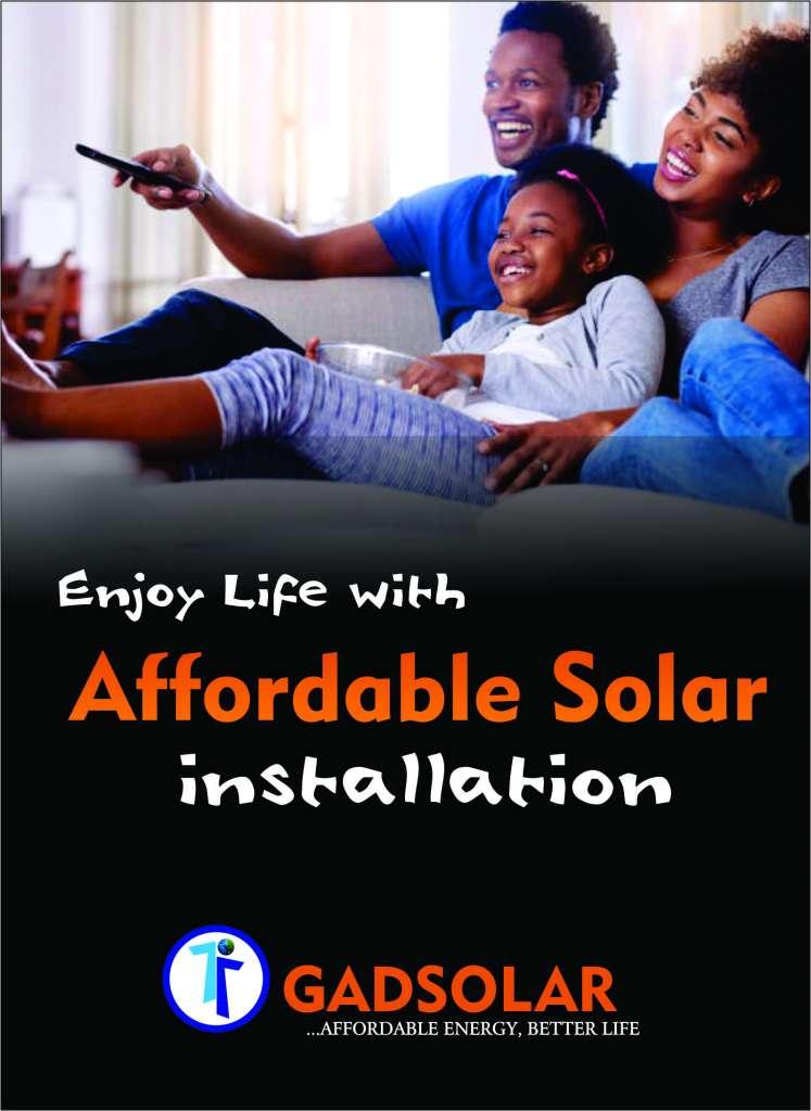 affordable solar installation in Nigeria
