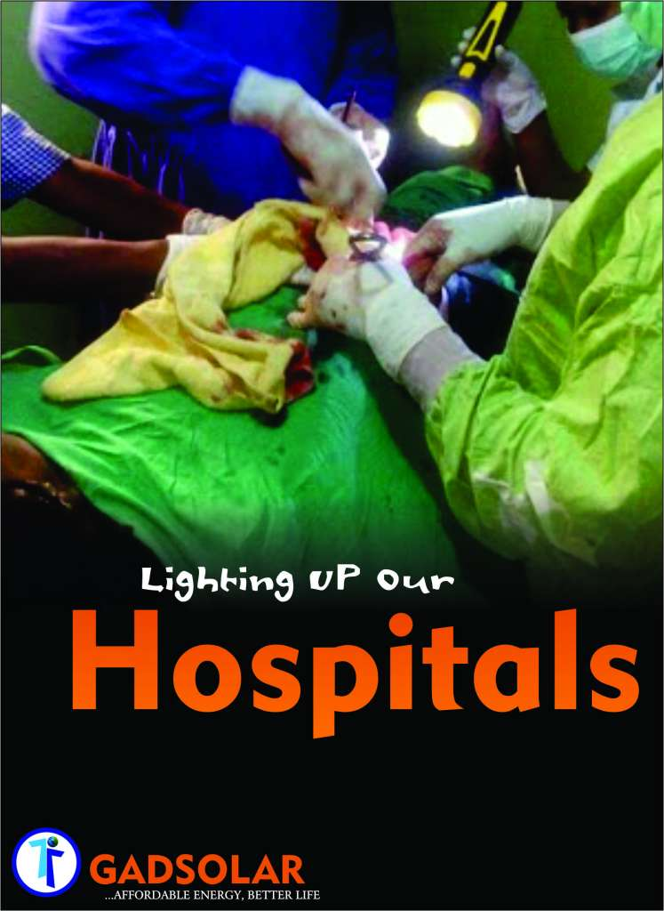 lighting up our hospitals