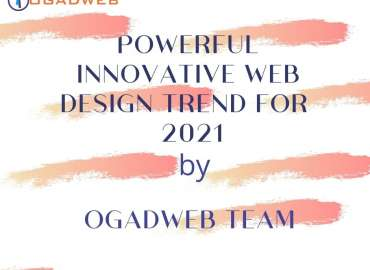 powerful innovative web design trends for 2021