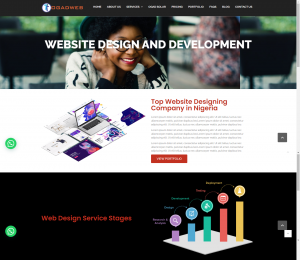 precision in website design than description